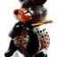 โคมไฟกะลามะพร้าวรูปหมี Coconut Shell Lamp Teddy Bear thumbnail 4