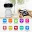 Dual-HD Wireless IP Camera Wifi กล้องวงจรปิดไร้สาย ดูผ่านมือถือได้ รุ่น Mini Robot thumbnail 2
