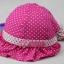 หมวกเด็กหญิง สีชมพูเข้ม สีชมพู สีแดง สีฟ้า PB14 thumbnail 3