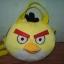 กระเป๋าถือได้ สะพายได้ Angry bird สีเหลือง ของใหม่!! thumbnail 1