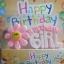 เทียนวันเกิด Birthday Girl สีชมพูมีดอกไม้ / Item No. TL-N003 thumbnail 1