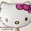 ลูกโป่งฟลอย์ หน้า Hello Kitty ไซส์เล็ก46 X 46 cm - Hello Kitty Face size 46 X 46 cm cm Foil Balloon / TL-A093 thumbnail 1