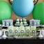 """ลูกโป่งจัมโบ้ สีเขียว ขนาด 24 นิ้ว - Round Jumbo Balloon Green 24"""" thumbnail 1"""
