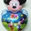 ลูกโป่งฟลอย์การ์ตูน มิกกี้เมาส์หัวใจ I Love You - Mickey Mouse Heart I Love You Foil Balloon / Item No.TL-A065 thumbnail 2