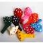 """ลูกโป่งกลมพิมพ์ลายจุด Polka Dot ไซส์ 12 นิ้ว คละสี แพ็คละ 100 ใบ (Round Balloons 12"""" - Polka Dot Printing latex balloons) thumbnail 2"""