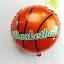 ลูกโป่งฟลอย์ ลูกบาสเก็ตบอล - Basket Ball Foil Balloon / Item No. TL-A148 thumbnail 1