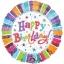 ลูกโป่งฟลอย์นำเข้า Radiant Birthday / Item No. AG-A119981 แบรนด์ Anagram ของแท้ thumbnail 1