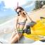 พร้อมส่ง ชุดว่ายน้ำทูพีซ บรา+กางเกงขาสั้น สีรุ้งสดใสสวยๆ thumbnail 8