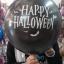 """ลูกโป่งกลมพิมพ์ลาย ชุด Halloween ไซส์ 12 นิ้ว คละแบบ แพ็คละ 4 ใบ (Round Balloons 12"""" - Halloween Printing latex balloons) thumbnail 7"""