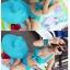 พร้อมส่ง ชุดว่ายน้ำทูพีชสีฟ้า บราแต่งโบว์ที่อก สายคล้องคอ กางเกงกระโปรงแต่งปลายระบายน่ารักๆ thumbnail 5
