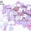 เลื่อมหัวใจ สีชมพูเหลือบ 9X10มิล thumbnail 1