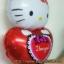 ลูกโป่งฟลอย์ Hello Kitty หัวใจ I Love You สีแดง - Hello Kitty I Love You heart Foil Balloon / Item No. TL-E022 thumbnail 4