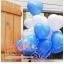 """ลูกโป่งหัวใจ เนื้อสแตนดาร์ทสีน้ำเงิน ไซส์ 12 นิ้ว แพ็คละ 10 ใบ (Heart Latex Balloon - Deep Blue Blue Color 12"""") สำเนา thumbnail 1"""