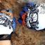 ถุงมือ MT07 - Blue Skull - Free size thumbnail 3