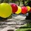 """ลูกโป่งจัมโบ้ สีเหลือง ขนาด 24 นิ้ว - Round Jumbo Balloon Yellow 24"""" thumbnail 4"""