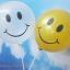 """ลูกโป่งกลมพิมพ์ลายหน้ายิ้ม ไซส์ 12 นิ้ว แพ็คละ 10 ใบ สีใส (Round Balloons 12"""" - Printing Smiley latex balloons clear color) thumbnail 3"""