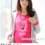 ชุดคลุมท้องผ้าคอตตอน มีเสื้อนอกสีเทา : ชุดสีชมพู รหัส CK211 thumbnail 7