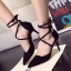 รองเท้าหนังส้นสูงสีดำ thumbnail 1
