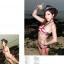 พร้อมส่ง ชุดว่ายน้ำ Bikini ผูกข้าง บราสายคล้องคอลายธงชาติสวยๆ thumbnail 7