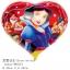 ลูกโป่งฟลอย์ลายสโนว์ไวท์ ทรงหัวใจ (แพ็ค10ใบ) / Item No. TL-A019 thumbnail 2