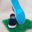 รองเท้าผ้าใบ Giallo รุ่น GM1 สีดำส้ม thumbnail 2