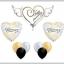 ลูกโป่งฟลอย์นำเข้า Anniversary Heart with Wings / Item No. AG-21975 แบรนด์ Anagram ของแท้ thumbnail 3