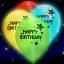 ลูกโป่ง LED พิมพ์ลาย Happy Birthday คละสี แพ็ค 5 ชิ้น ไฟสลับสี (LED Balloon Happy Birthday Mixed Color - LED RGB) thumbnail 7
