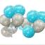 """ลูกโป่งกลมพิมพ์ลายหิมะ Snow Flake สีฟ้าและสีเงิน แพ็คละ 10 ใบ(Round Balloons 12""""- Printing Snow Flake Blue and Silver color) thumbnail 5"""