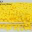 ปอมเส้นยาว สีเหลือง กว้าง 2ซม(1หลา/90ซม) thumbnail 1