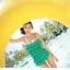 พร้อมส่ง ชุดว่ายน้ำวันพีซ Monokini สายเสื้อเดี่ยว แต่งระบายด้านหน้า หลังเว้าลึก น่ารักสไตล์เกาหลี thumbnail 39