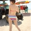 พร้อมส่ง ชุดว่ายน้ำบิกินี่ สายคล้องคอ ลายเรนโบว์สีสันสดใส พร้อมชุดเอี๊ยมกางเกงขาสั้น เซ็ตนี้สุดคุ้ม thumbnail 9