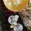"""ลูกโป่งกลมจัมโบ้ไซส์ใหญ่ 30""""Latex Balloon RB Gold สีทอง/ Item No.TQ-38422 แบรนด์ Qualatex thumbnail 9"""
