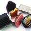 Metafun Wallet Set กระเป๋ากันน้ำ กระเป๋าตังค์ กระเป๋านามบัตรอลูมิเนียม แพค 3 ใบ คละสี thumbnail 4