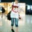 เสื้อคลุมท้องแขนยาว ลายแมว White Cat : สีขาว รหัส SH179 thumbnail 5