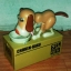 กระปุกกินเหรียญ รุ่น น้องหมาจอมตะกละ Choken Bako (สีน้ำตาล) (ซื้อ 3 ชิ้น ราคาส่ง 390 บาท) thumbnail 3