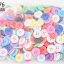 กระดุมพลาสติก คละสี 20มิล(1กิโล/1,000กรัม) thumbnail 1