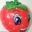 ลูกโป่งฟลอย์ สตอร์เบอร์รี่ - Strawberry Foil Balloon / Item No. TL-A063 thumbnail 2