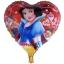 ลูกโป่งฟลอย์ลายสโนว์ไวท์ ทรงหัวใจ (แพ็ค10ใบ) / Item No. TL-A019 thumbnail 1