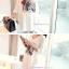 เสื้อคลุมท้องแขนยาว ลายผู้หญิงผูกโบว์แดง : สีขาว รหัส SH150 thumbnail 15