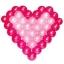 กรอบตาข่ายใส่ลูกโป่งทรงหัวใจ - Balloon Grid Mesh Heart Balloon thumbnail 12