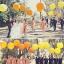 """ลูกโป่งกลม สีส้ม ไซส์ 18 นิ้ว จำนวน 1 ใบ (Round Balloon - Standard Orange Color 18"""") thumbnail 1"""