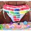 พร้อมส่ง ชุดว่ายน้ำคู่รัก บิกินี่ เซ็ต 3 ชิ้น colorful สีสันสดใส (บรา+บิกินี่+ผ้าคลุมซีทรู) thumbnail 27