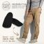 แผ่นเพิ่มความสูงในถุงเท้า 2.5 cm สีดำ thumbnail 1