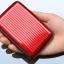 Metafun Wallet Set กระเป๋ากันน้ำ กระเป๋าตังค์ กระเป๋านามบัตรอลูมิเนียม แพค 3 ใบ คละสี thumbnail 10
