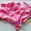 """ลูกโป่งหัวใจ เนื้อสแตนดาร์ทสีชมพู ไซส์ 12 นิ้ว แพ็คละ 10 ใบ (Heart Latex Balloon - Pink Color 12"""") thumbnail 8"""