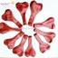 ลูกโป่งหัวใจ เนื้อเมททัลลิค สีแดง ไซส์ 6 นิ้ว แพ็คละ 10 ใบ thumbnail 4