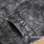 กางเกงยีนส์เดฟขายาว สีโทนดำ : SIZE L รหัส PN061 thumbnail 11