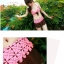 พร้อมส่ง ชุดว่ายน้ำบิกินี่เซ็ต 3 ชิ้น สายคล้องคอ ลายดอกไม้ บรา+กระโปรงแต่งดอกไม้ช่อน่ารักๆ /โทนสีแดง thumbnail 7