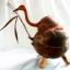 ออมสินกะลามะพร้าวรูปนกกระยาง Coconut Shell lamp Egret thumbnail 4