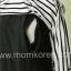 MK154 ชุดคลุมท้องแฟชั่นเกาหลี 2 in 1 เปิดให้นมได้ มี 2 ชิ้น เสื้อตัวในสีดำ+เสื้อคลุม ให้นมน้องได้ thumbnail 5